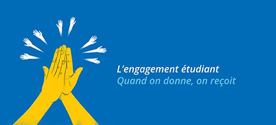 L'engagement étudiant | Quand on donne, on reçoit